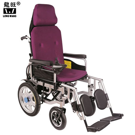 High Backrest Power Wheelchair