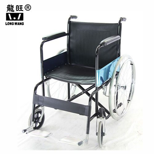 Chromed Foldable Lightweight Wheelchair - copy