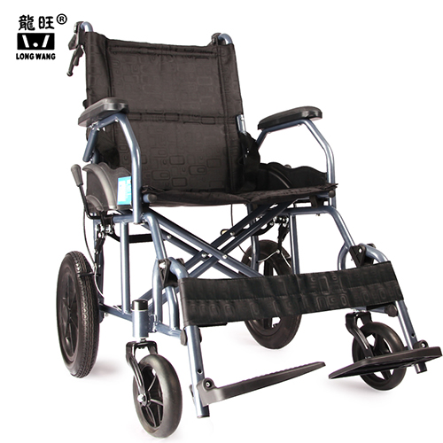 legrest can adjustable lightweight folding  portable manual wheelchair